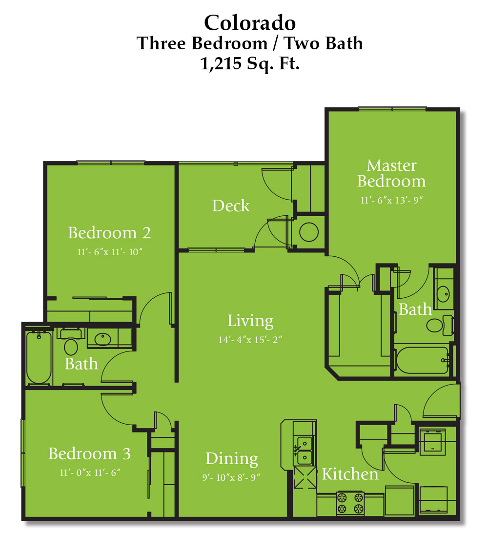 Reed Road Colorado Floorplan