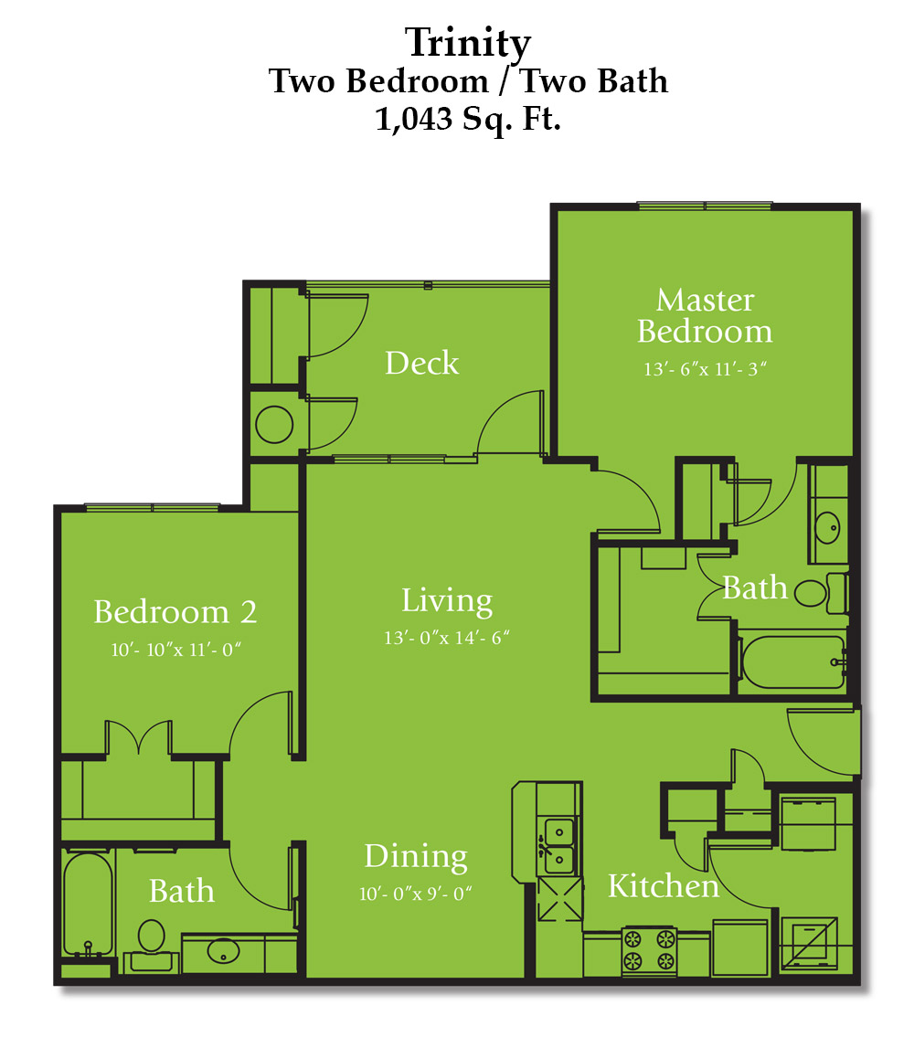 Reed Road Trinity Floorplan