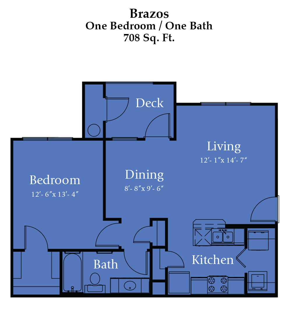 River Bend Brazos Floor Plan