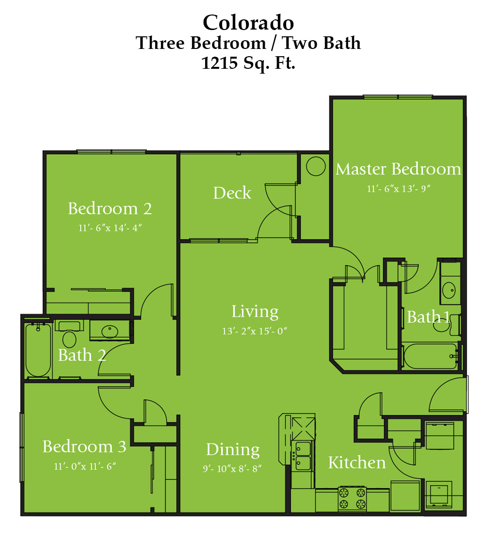 River Bend Colorado Floor Plan