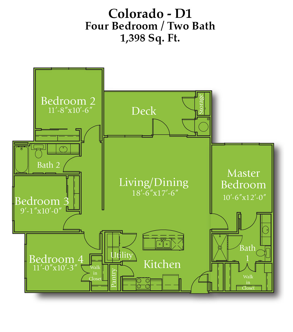 Wayside Drive Colorado Floor Plan