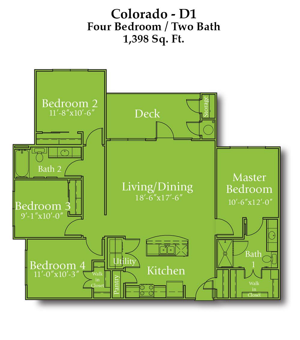 Wayside Drive Colorado Floor Plan