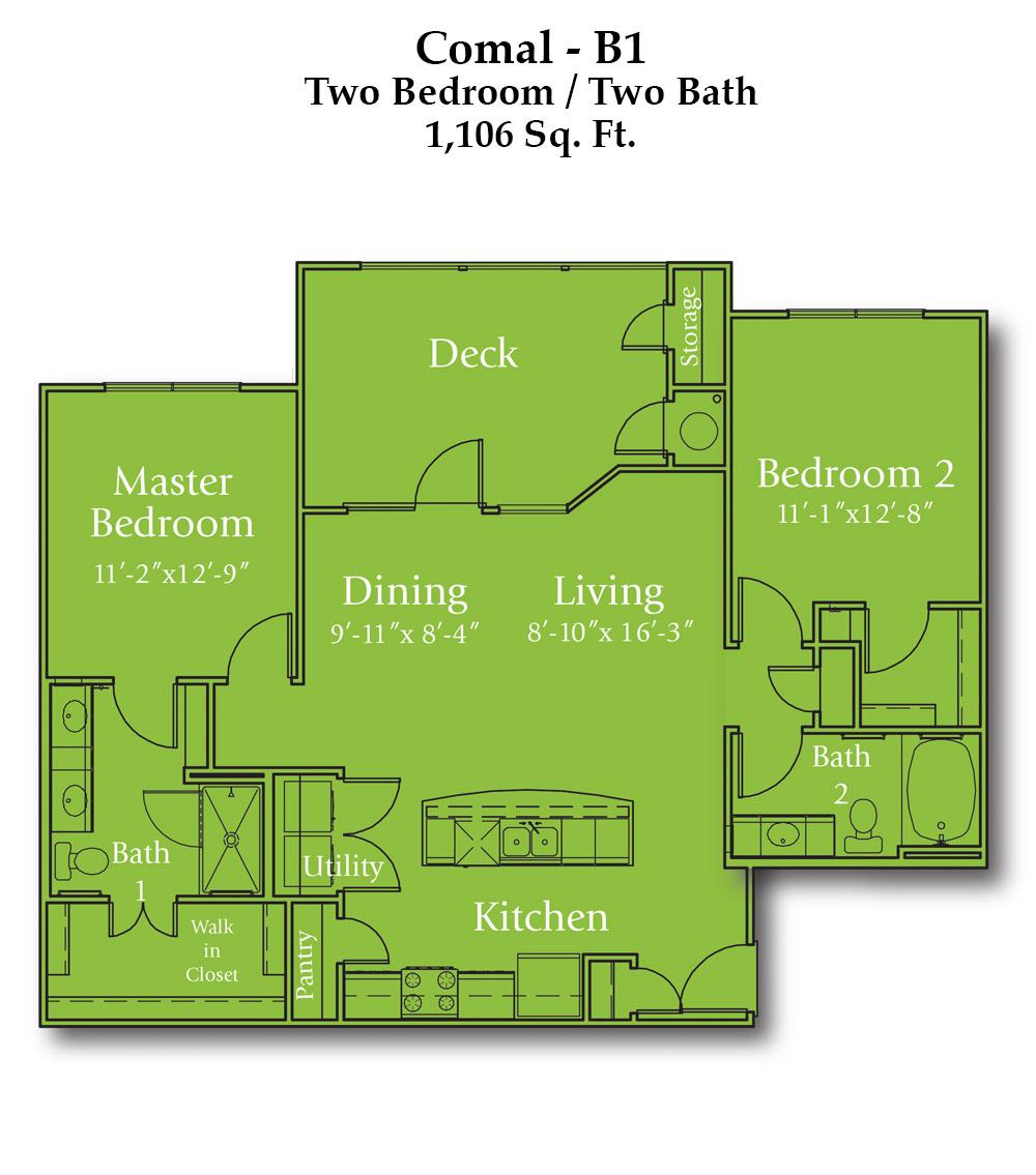 Wayside Drive Comal Floor Plan