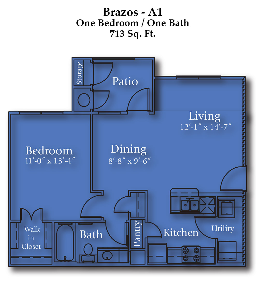 Joshua Brazos Floorplan