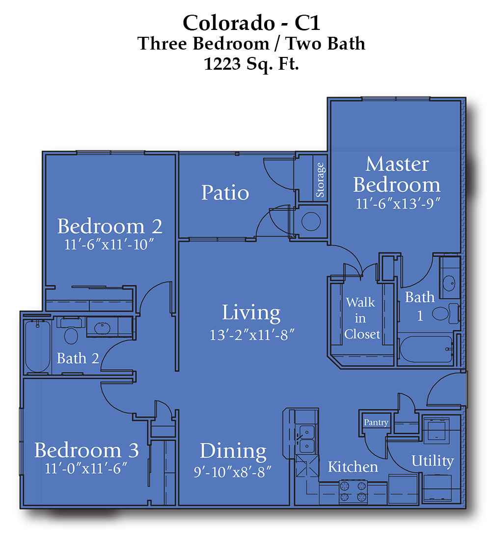 Joshua Colorado Floorplan
