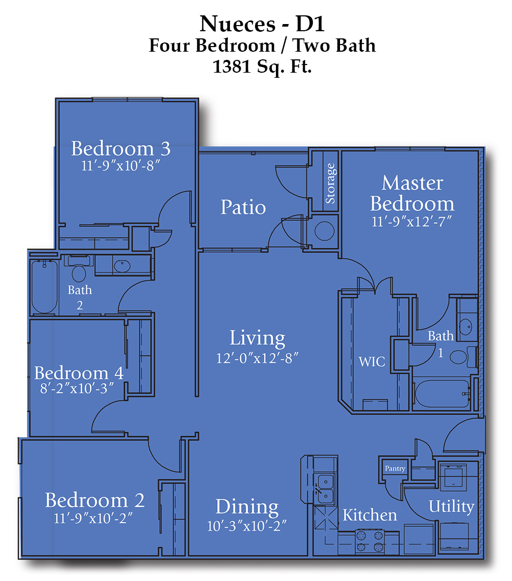 Joshua Nueces Floor Plan