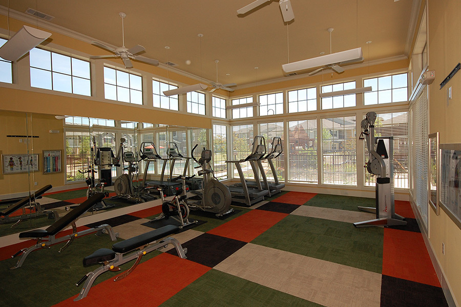 Cypress Creek Apartment Homes at Joshua Station - Workout Room