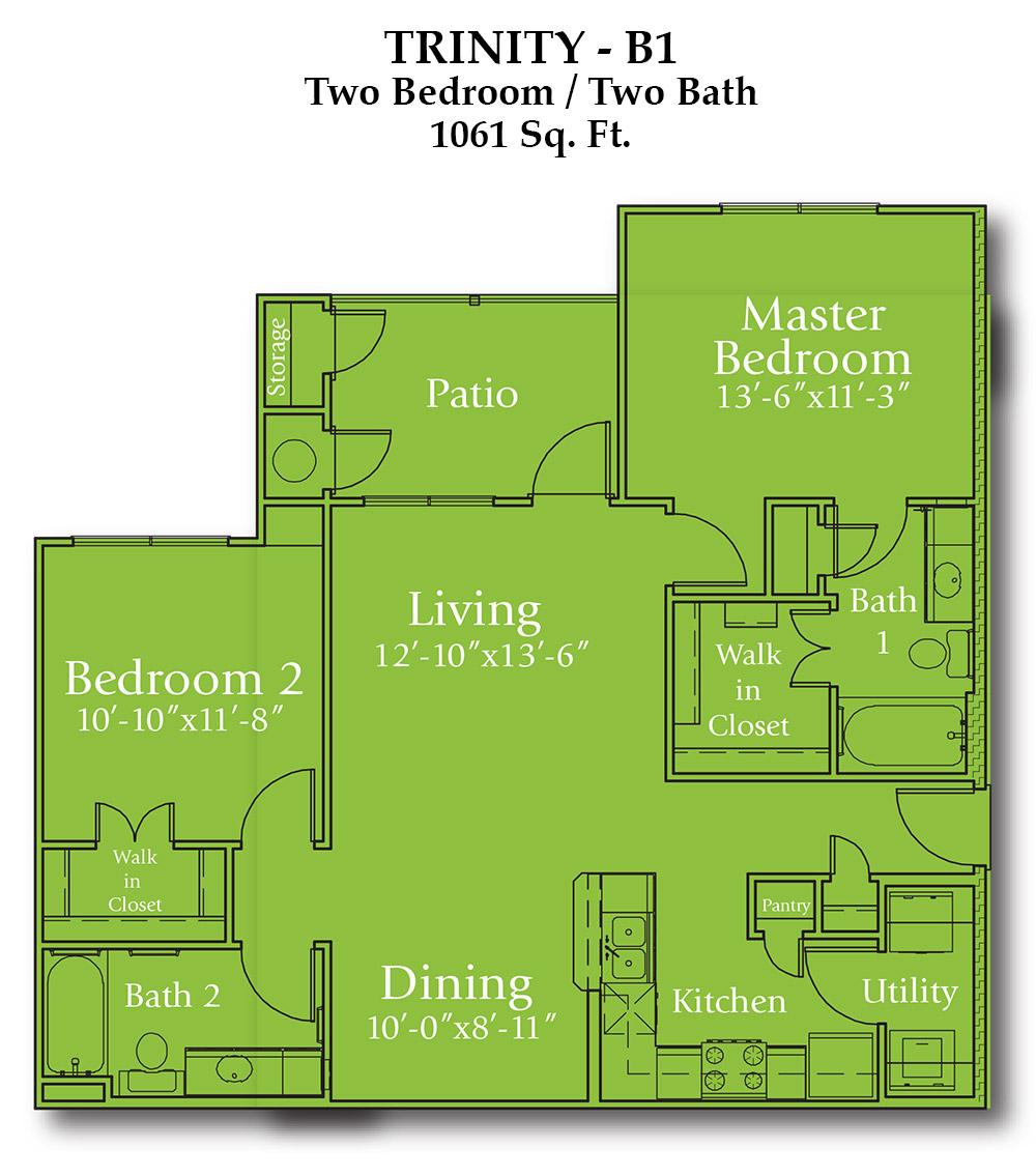 Joshua Trinity Floor Plan