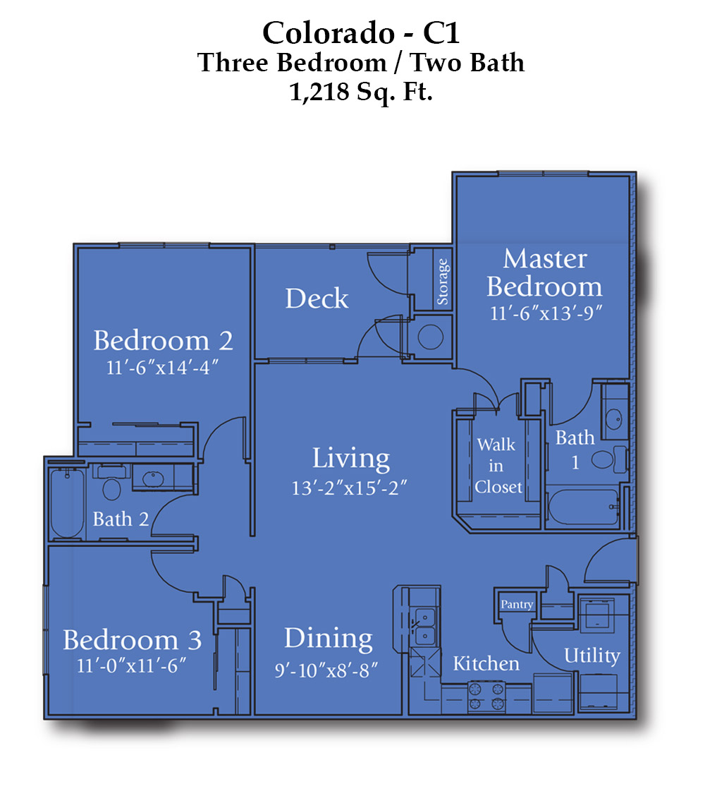 Parker Boulevard Colorado Floor Plan
