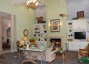 Cypress Creek Apartment Homes at Reed Road - Clubhouse Interior