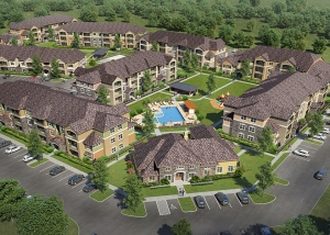 Cypress Creek Apartment Homes at Wayside Drive - Aerial