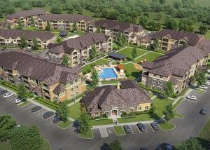 Cypress Creek Apartment Homes at Wayside Drive - Aerial