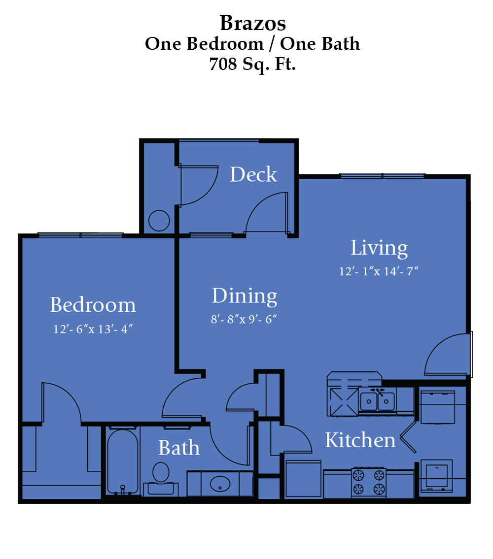 River Bend Brazos Floor Plan