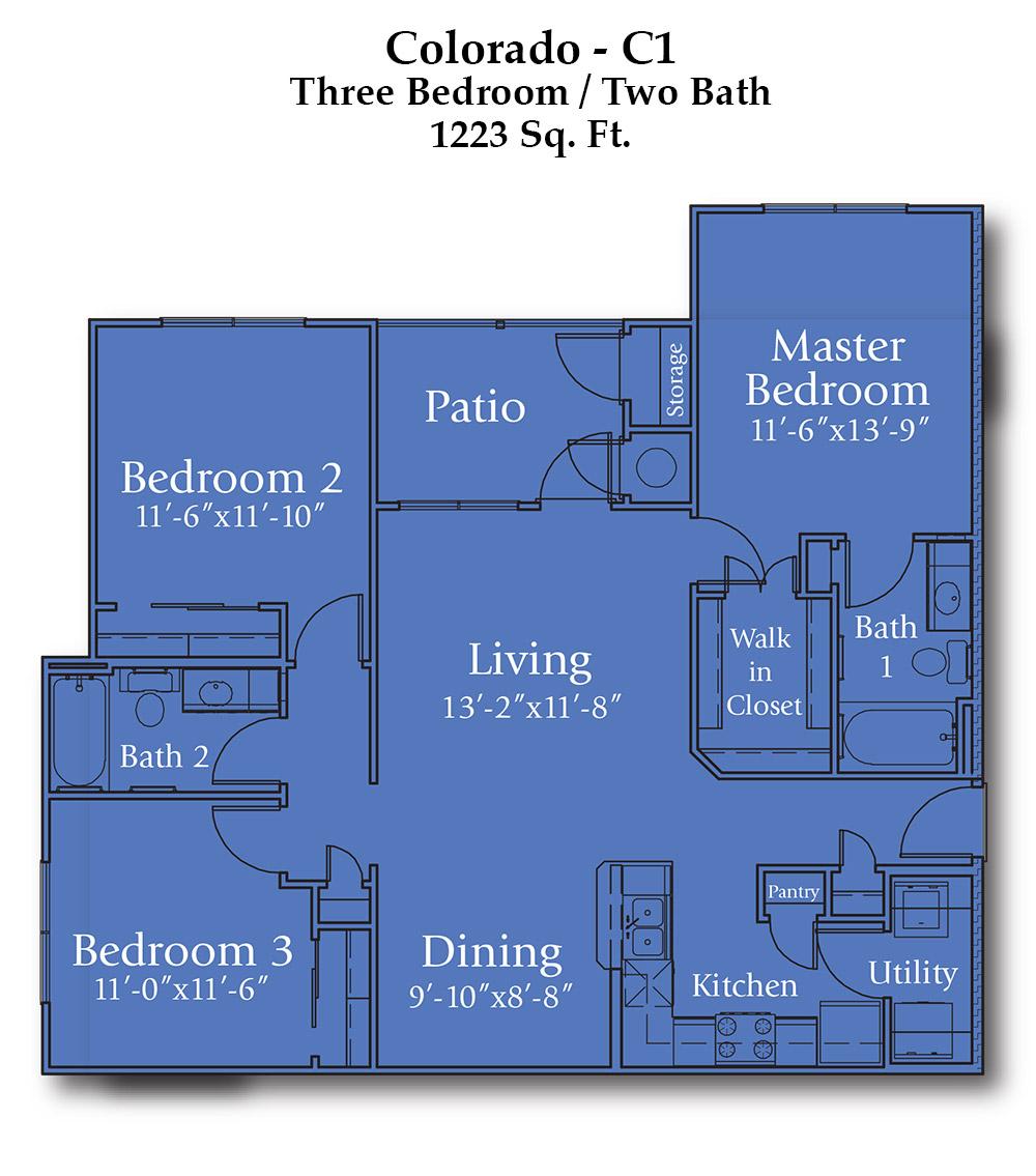 Joshua Colorado Floorplan