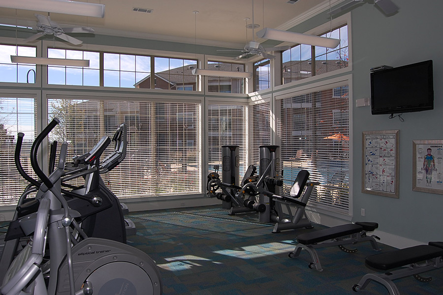 Cypress Creek Apartment Homes at Reed Road - Fitness Center
