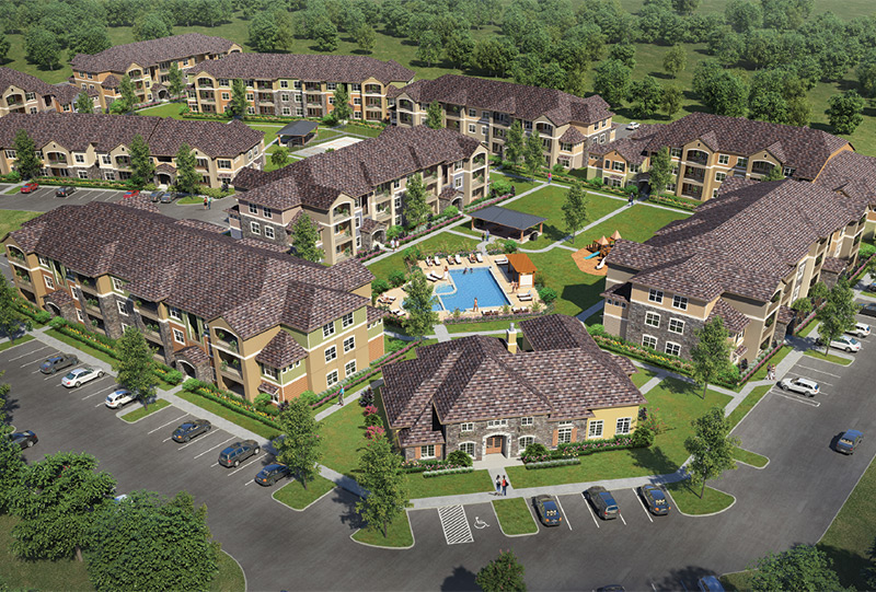 Cypress Creek Apartment Homes at Wayside Drive, Houston, Texas